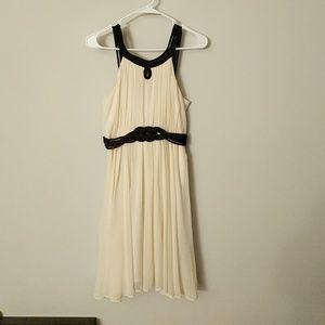Gorgeous classy off-white dress